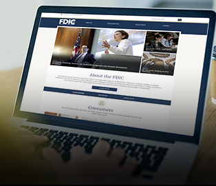 FDIC Redesigns Website