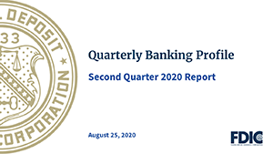 Image of Quarterly Banking Profile Press Conference, August 25, 2020.
