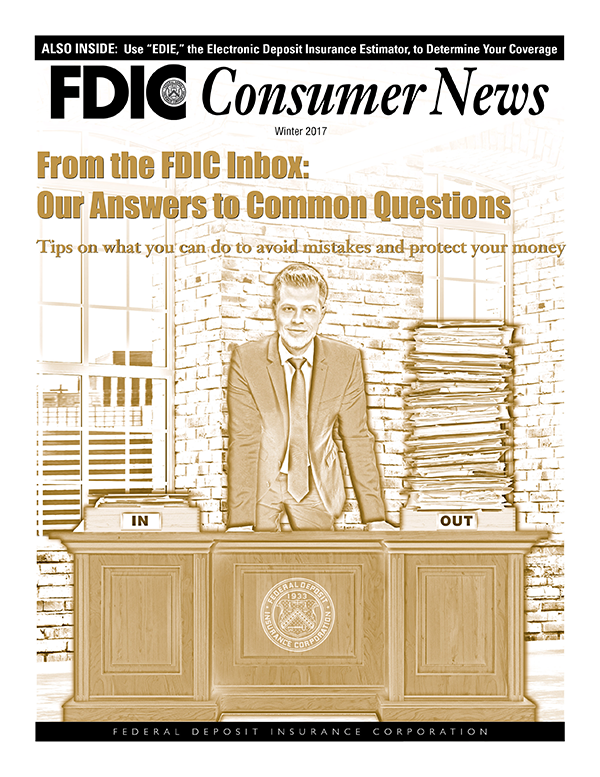 FDIC Consumer News - Fall 2016