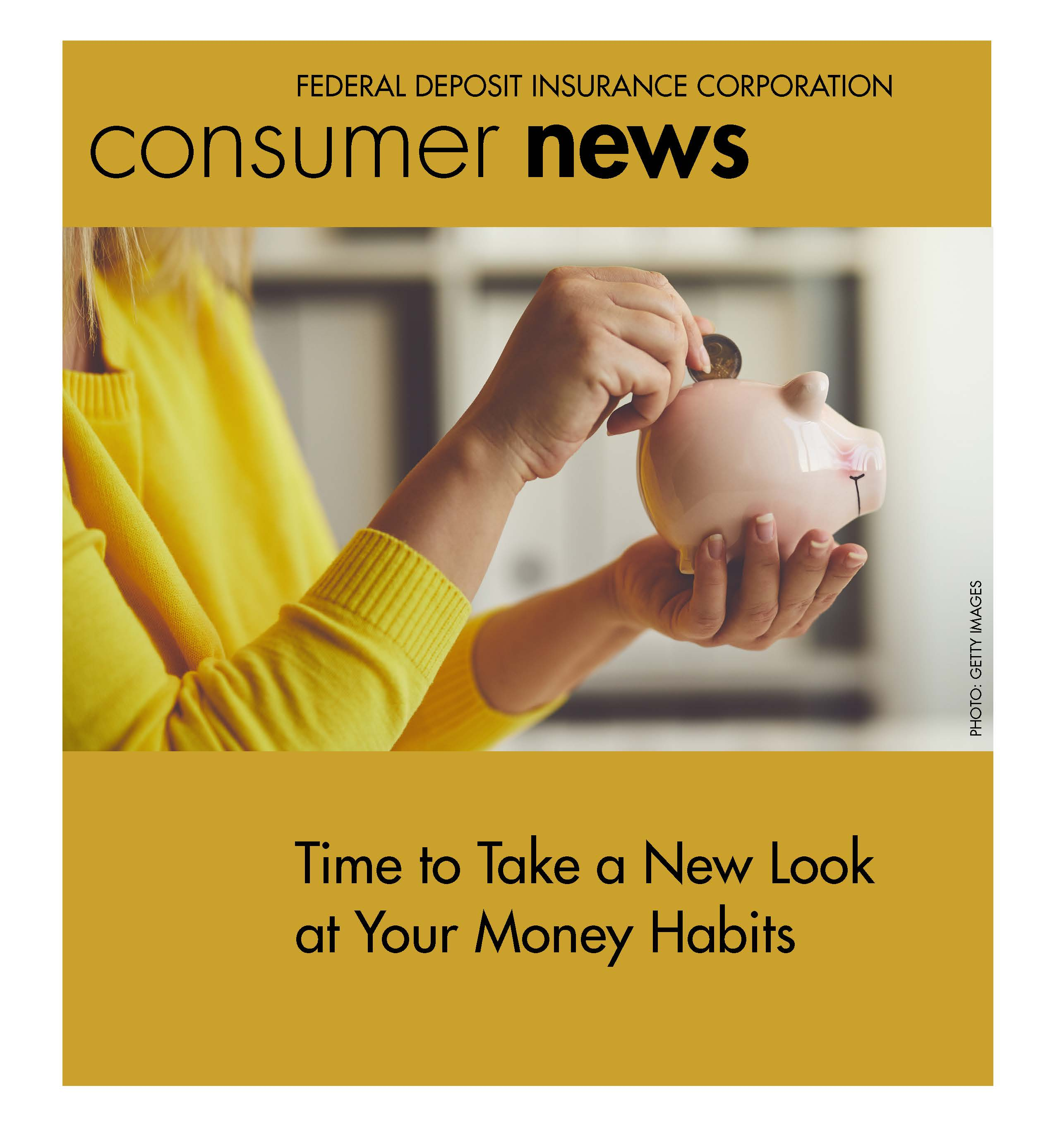 Cover of FDIC Consumer News