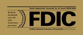 FDIC Teller Sign