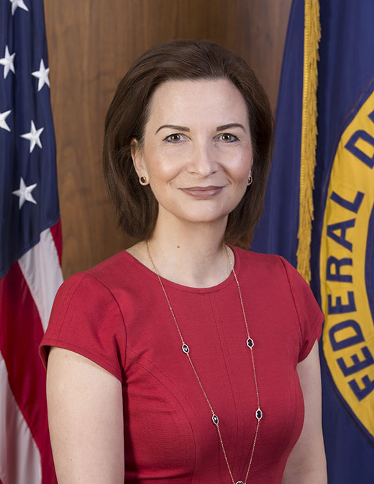 Jelena  McWilliams the 21st Chairman of the FDIC