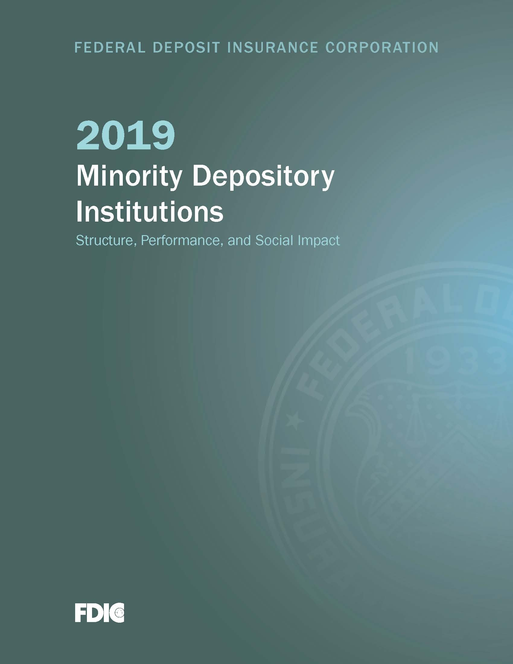 Minority Depository Institutions Cover