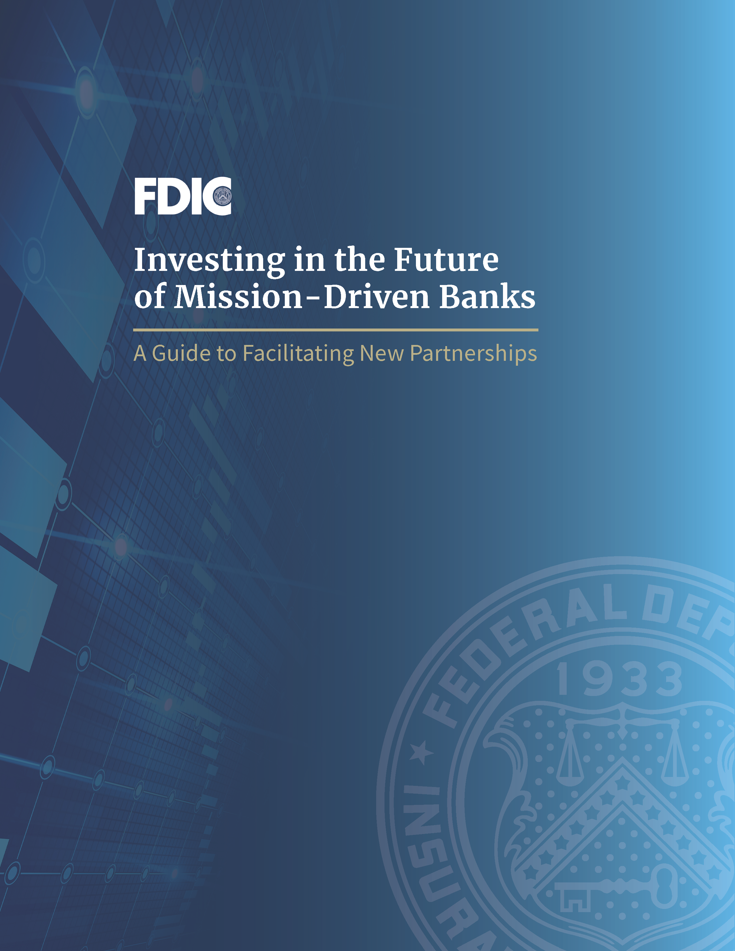 Cover Art for Investing in the Future of Mission-Driven Banks: A Guide to Facilitating New Partnerships
