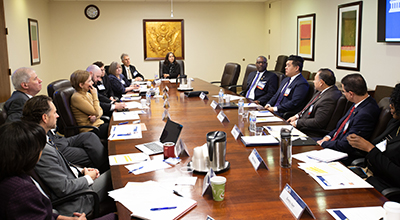 FDIC's MDI Subcommittee inaugural meeting on December 3, 2019.