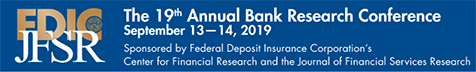 19th Annual Bank Research Conference - Call For Papers