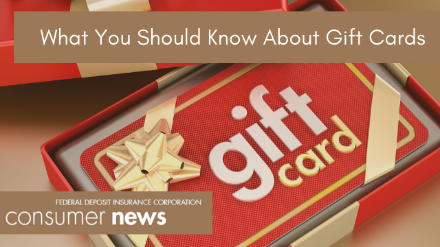 Consumer News for December 2019 - What you should know about gift cards