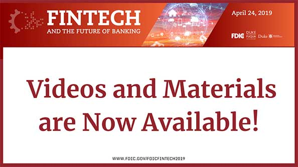 Fintech Videos and Materials are now available