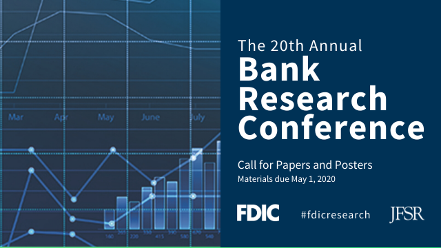 The 20th Annual Bank Research Conference: Call for Papers and Posters
